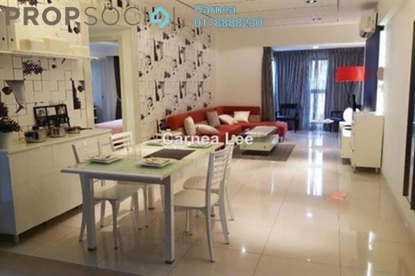 For Sale Condominium at Royalle Condominium, Segambut Freehold Semi Furnished 3R/3B 770k