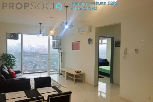 For Rent Apartment at MH Platinum Residency, Setapak Freehold Fully Furnished 3R/2B 2.2k