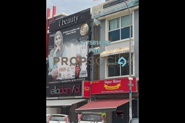 For Rent Shop at Ken Rimba, Shah Alam Freehold Semi Furnished 0R/2B 3.5k