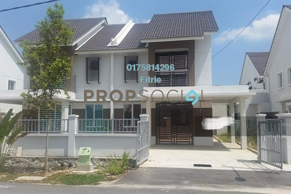 For Rent Semi-Detached at Bandar Puncak Alam, Kuala Selangor Leasehold Semi Furnished 4R/3B 1k