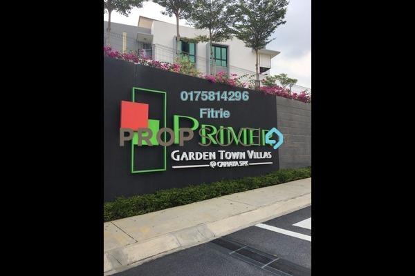 For Sale Townhouse at Primer Garden Town Villas, Cahaya SPK Leasehold Unfurnished 3R/4B 800k