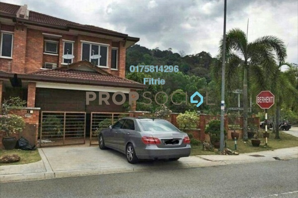 For Sale Terrace at Alam Budiman, Shah Alam Leasehold Fully Furnished 4R/3B 1.2m
