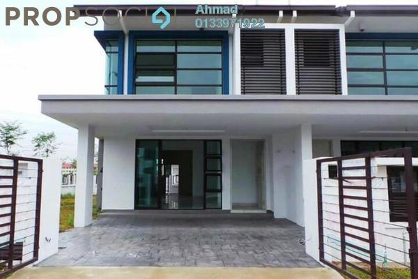 For Sale Superlink at Nafiri, Bandar Bukit Raja Freehold Unfurnished 4R/3B 910k