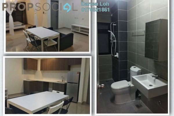 For Rent Serviced Residence at Hyve, Cyberjaya Freehold Fully Furnished 1R/1B 1.1k