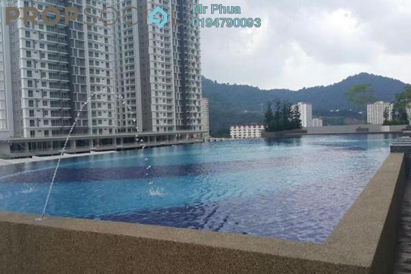 For Rent Condominium at Sierra Residences, Sungai Ara Freehold Semi Furnished 3R/2B 1.35k