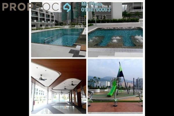 For Rent Condominium at One Imperial, Sungai Ara Freehold Semi Furnished 3R/2B 1.5k