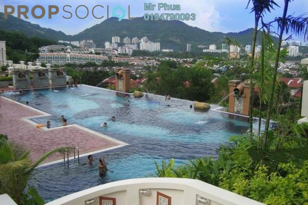 For Rent Condominium at Regency Heights, Sungai Ara Freehold Semi Furnished 4R/2B 1k