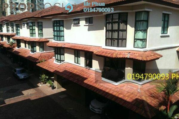 For Rent Townhouse at Tanjung Villa, Tanjung Bungah Freehold Fully Furnished 4R/2B 1.5k
