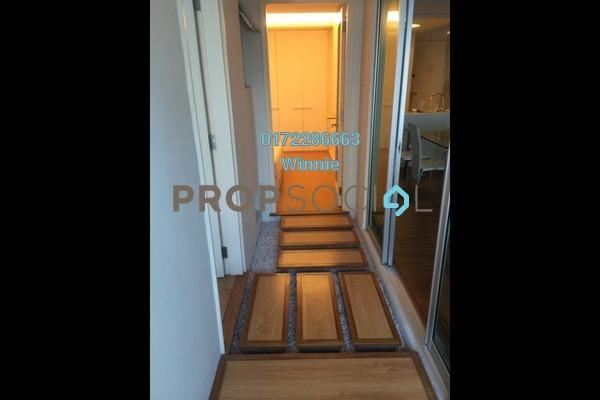 For Rent Apartment at i-Zen Kiara I, Mont Kiara Freehold Fully Furnished 2R/2B 3k