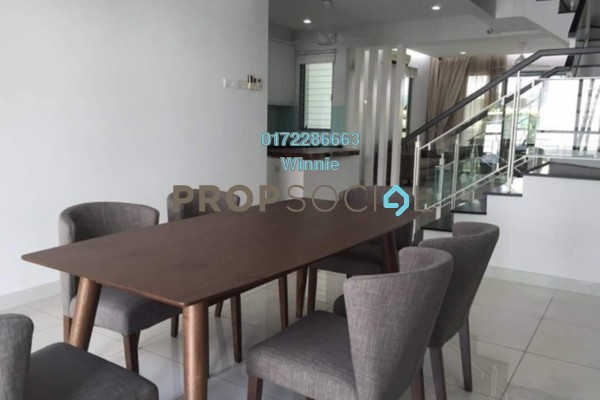 For Rent Terrace at Zenia, Desa ParkCity Freehold Fully Furnished 3R/4B 6.5k