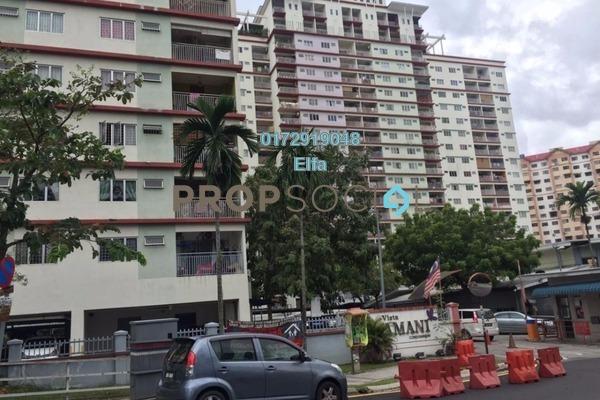For Sale Condominium at Vista Amani, Bandar Sri Permaisuri Leasehold Semi Furnished 4R/2B 435k