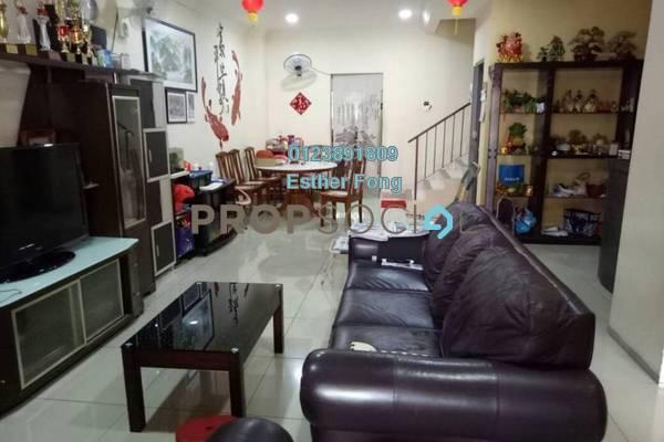 For Sale Terrace at Taman Sri Putra Mas, Sungai Buloh Freehold Fully Furnished 4R/3B 680k