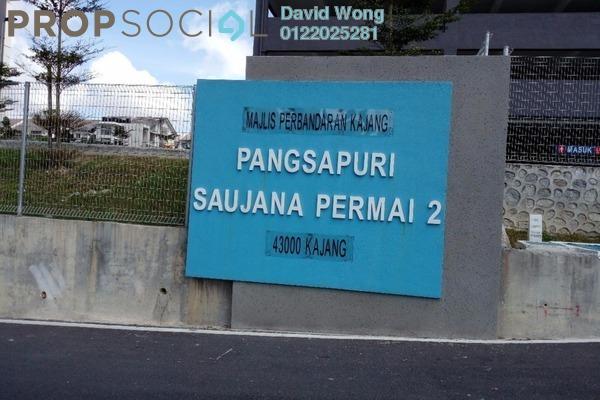 For Rent Apartment at Saujana Permai Apartment, Kajang Freehold Semi Furnished 3R/2B 900translationmissing:en.pricing.unit