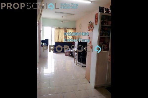 For Sale Apartment at Sri Pinang Villa, Pandan Indah Freehold Semi Furnished 3R/2B 390k