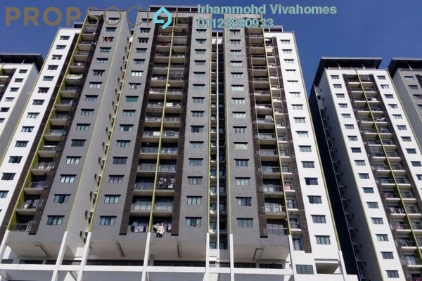 For Rent Condominium at Residensi Alami, Shah Alam Freehold Semi Furnished 3R/2B 1.8k