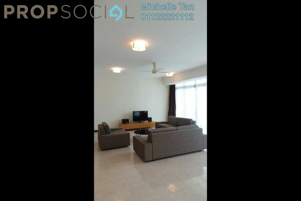 For Rent Condominium at Hampshire Residences, KLCC Freehold Fully Furnished 4R/5B 10.5k
