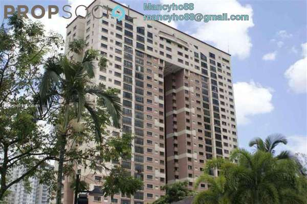 For Rent Condominium at Vista Kiara, Mont Kiara Freehold Fully Furnished 3R/2B 2.3k