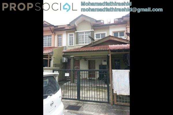 For Sale Terrace at Seri Pristana, Sungai Buloh Leasehold Semi Furnished 4R/3B 415k