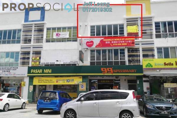 For Rent Shop at Eramas, Setia Alam Freehold Semi Furnished 0R/1B 1.45k
