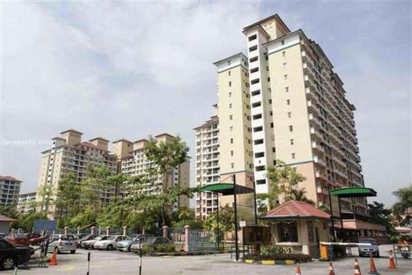 For Sale Condominium at Arena Green, Bukit Jalil Freehold Fully Furnished 2R/2B 370k