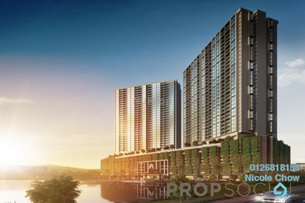 For Sale Serviced Residence at Petaling Jaya Commercial City, PJ South Leasehold Semi Furnished 0R/0B 360k