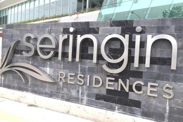 For Rent Condominium at Seringin Residences, Kuchai Lama Freehold Semi Furnished 3R/4B 3.2k