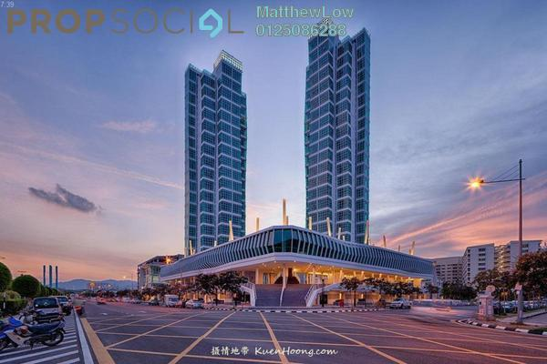 For Sale Condominium at The Maritime, Jelutong Leasehold Fully Furnished 2R/2B 919k