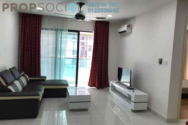 For Rent Condominium at Isola, Subang Jaya Freehold Fully Furnished 2R/2B 3.5k