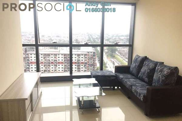 For Rent SoHo/Studio at Icon City, Petaling Jaya Leasehold Fully Furnished 1R/1B 1.9k