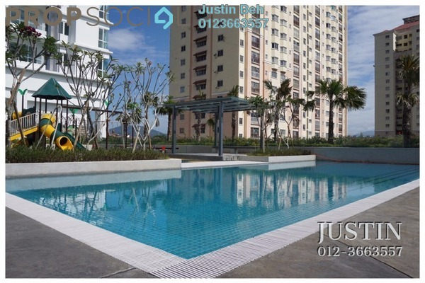 For Sale Condominium at Scenaria, Segambut Freehold Semi Furnished 2R/2B 680k