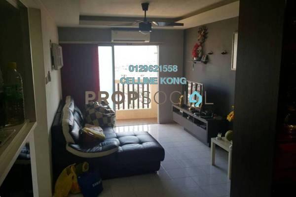 For Sale Condominium at Laksamana Puri, Batu Caves Freehold Semi Furnished 3R/2B 280k
