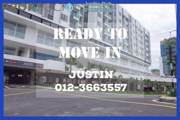 For Sale Serviced Residence at Suria @ North Kiara, Segambut Freehold Unfurnished 2R/2B 628k