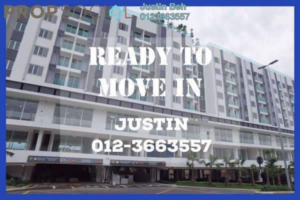 For Sale Serviced Residence at Suria @ North Kiara, Segambut Freehold Unfurnished 2R/2B 630k