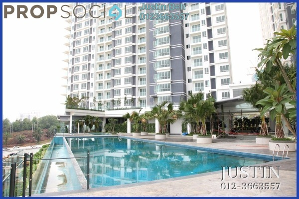 For Sale Serviced Residence at Desa Green Serviced Apartment, Taman Desa Freehold Unfurnished 1R/1B 500k