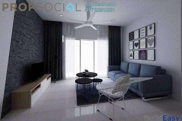 For Rent Condominium at Scenaria, Segambut Freehold Fully Furnished 3R/3B 2.6k