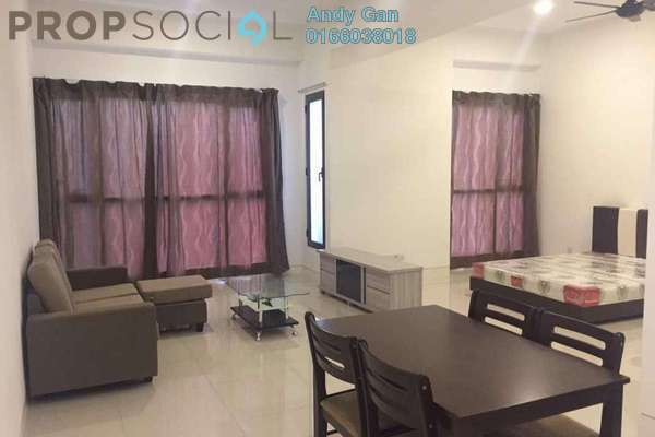 For Rent Serviced Residence at Tropicana Gardens, Kota Damansara Leasehold Fully Furnished 1R/1B 2k