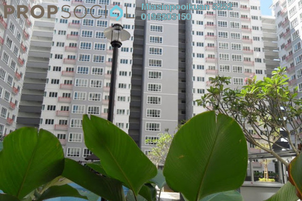 For Rent Condominium at Banjaria Court, Batu Caves Leasehold Fully Furnished 3R/2B 1.7k
