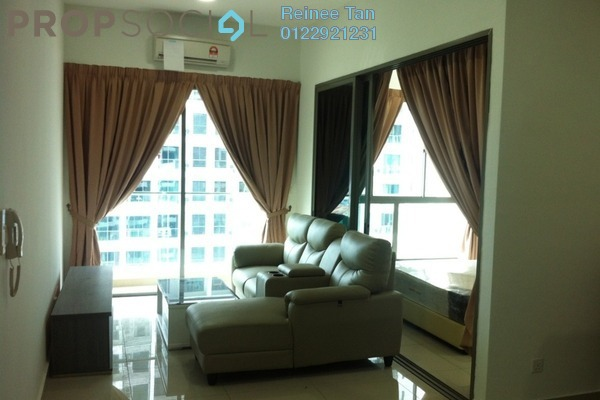 For Rent Condominium at CyberSquare, Cyberjaya Freehold Semi Furnished 2R/2B 1.6k