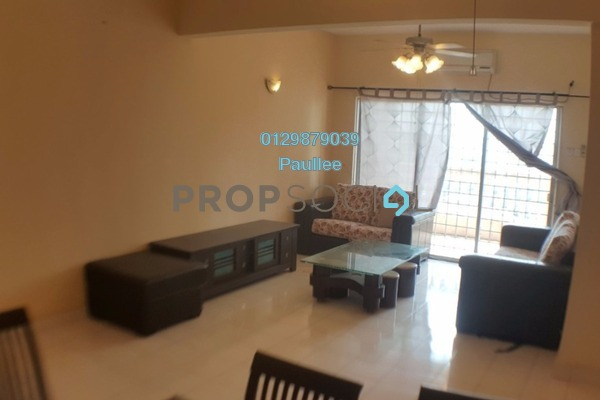 For Rent Apartment at Sri Bayu Apartment, Bandar Puchong Jaya Freehold Fully Furnished 3R/2B 1.2k