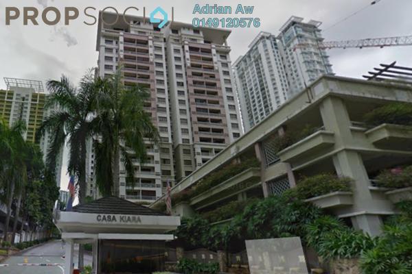 For Rent Condominium at Casa Kiara I, Mont Kiara Freehold Fully Furnished 3R/2B 2.5k