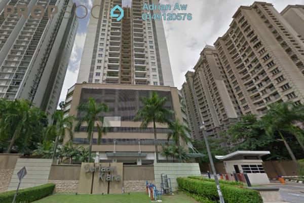 For Rent Condominium at Ceriaan Kiara, Mont Kiara Freehold Semi Furnished 4R/4B 4k