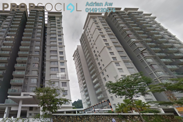 For Rent Condominium at Villa Orkid, Segambut Freehold Fully Furnished 4R/4B 2.5k