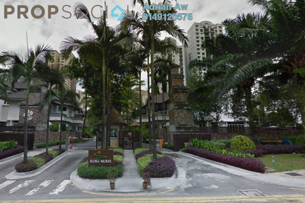 For Rent Condominium at Flora Murni, Mont Kiara Freehold Fully Furnished 4R/5B 7.5k