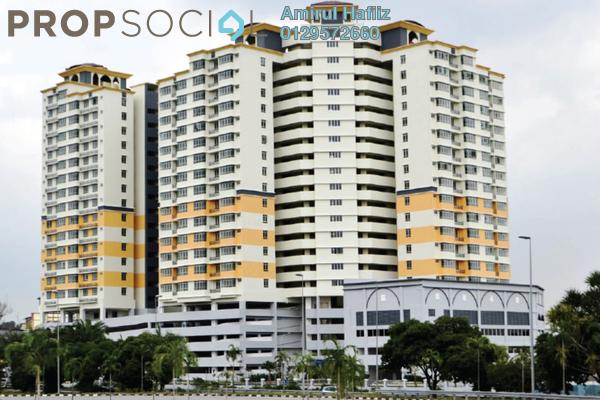 For Sale Apartment at Mutiara Anggerik, Shah Alam Leasehold Unfurnished 3R/2B 448k