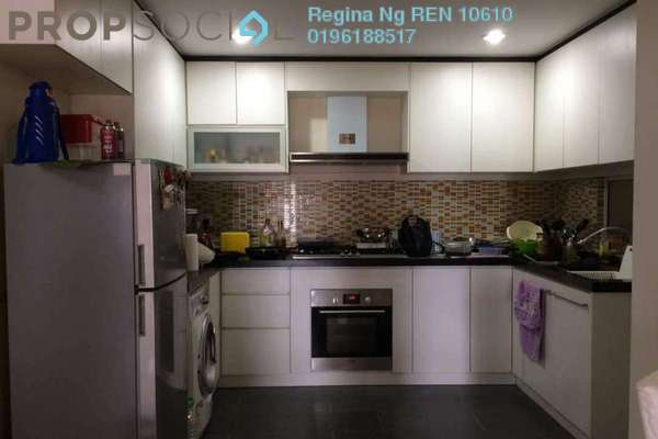 For Rent Condominium at Pelangi Heights, Klang Freehold Fully Furnished 3R/2B 1.8k