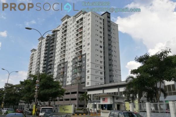 For Rent Condominium at Casa Idaman, Jalan Ipoh Leasehold Semi Furnished 3R/2B 1.6k