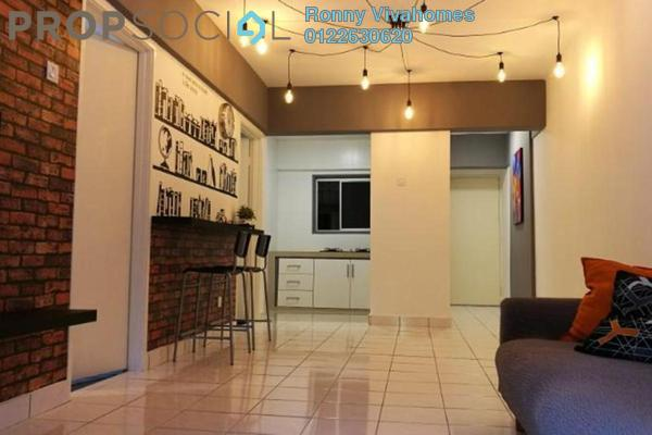For Rent Apartment at Arena Green, Bukit Jalil Freehold Unfurnished 2R/1B 1.4k