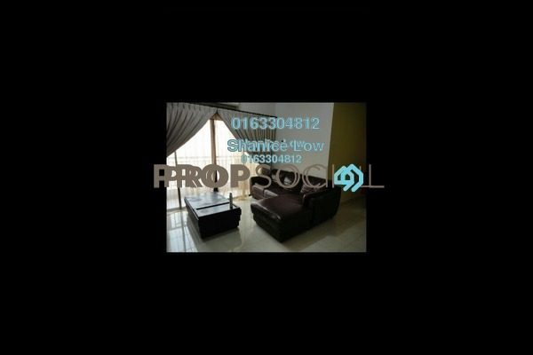 For Rent Condominium at Pelangi Utama, Bandar Utama Leasehold Fully Furnished 3R/2B 2.1k