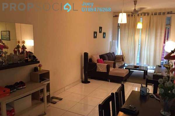 For Sale Condominium at Perdana View, Damansara Perdana Leasehold Semi Furnished 3R/2B 470k