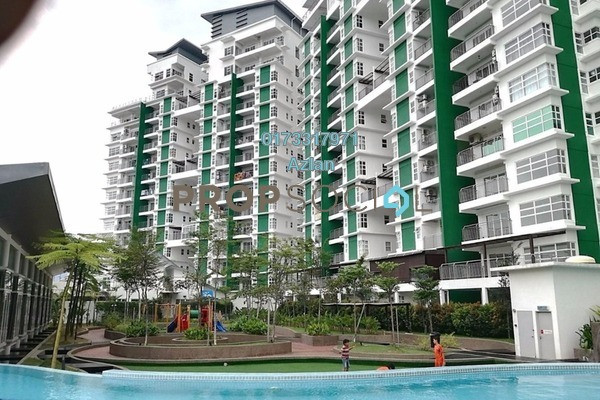 For Sale Condominium at D'Pines, Pandan Indah Leasehold Unfurnished 4R/3B 685k